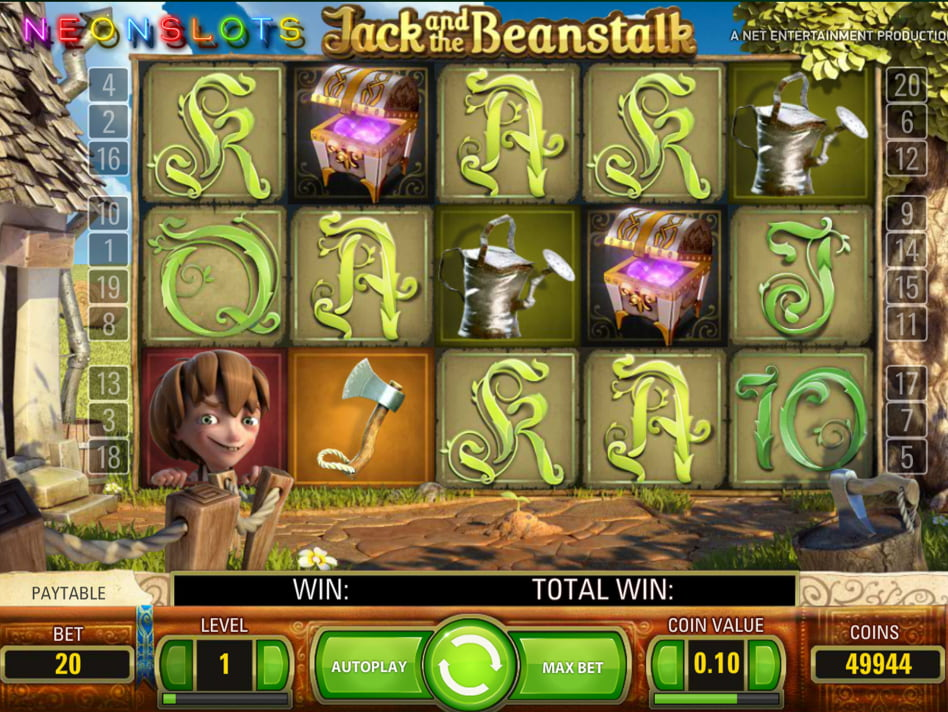Jack and the Beanstalk slot game