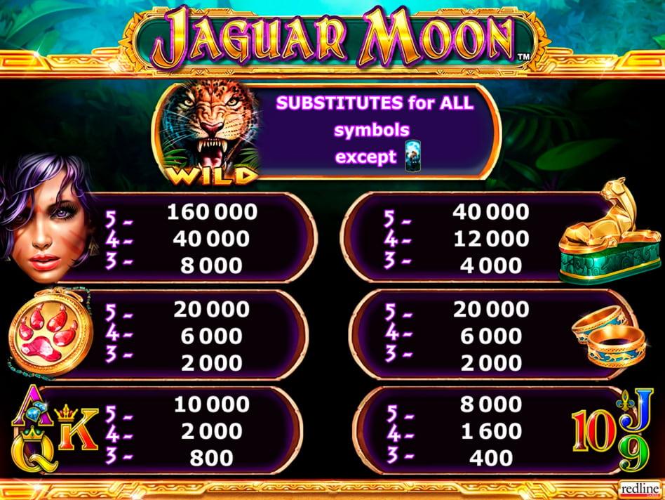Jaguar Moon slot game