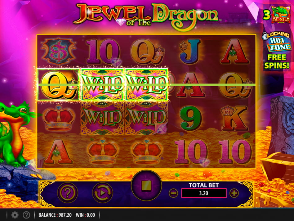 Jewel of the Dragon slot game