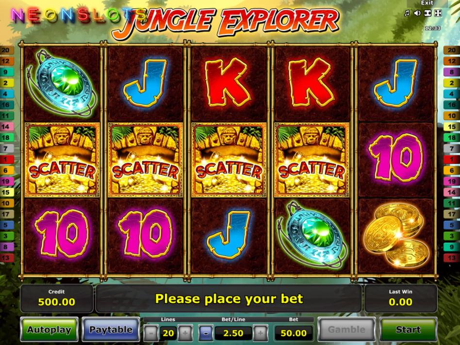 Jungle Explorer slot game