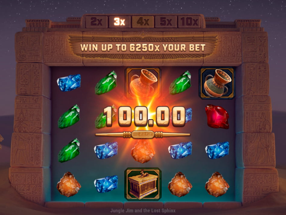 Jungle Jim and the Lost Sphinx slot game