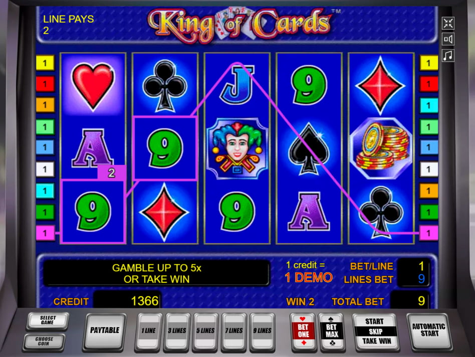 King of Cards slot game