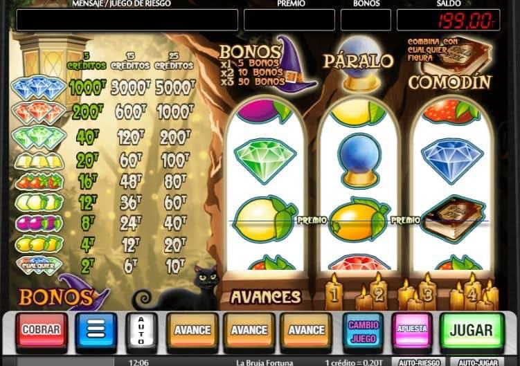 La Bruja Fortuna slot game