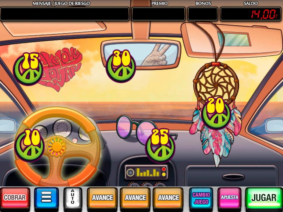 La Furgo Hippy slot game