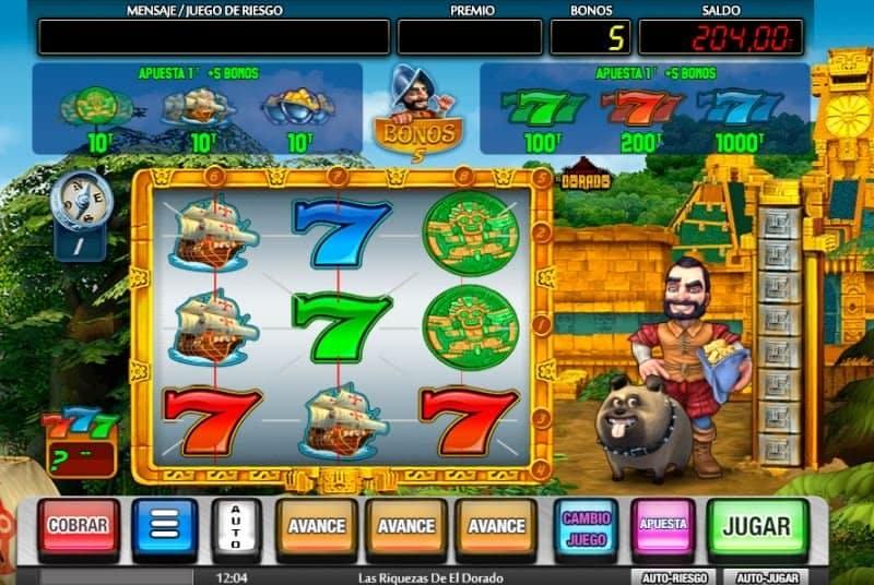 Las Riquezas de El Dorado slot game