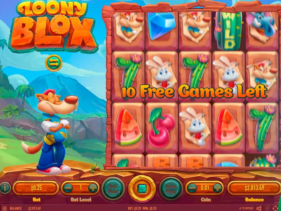 Loony Blox slot game