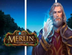 Lord Merlin and the Lady of the Lake slot game