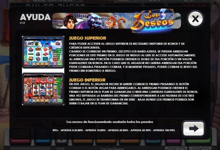 Los 3 Deseos slot game