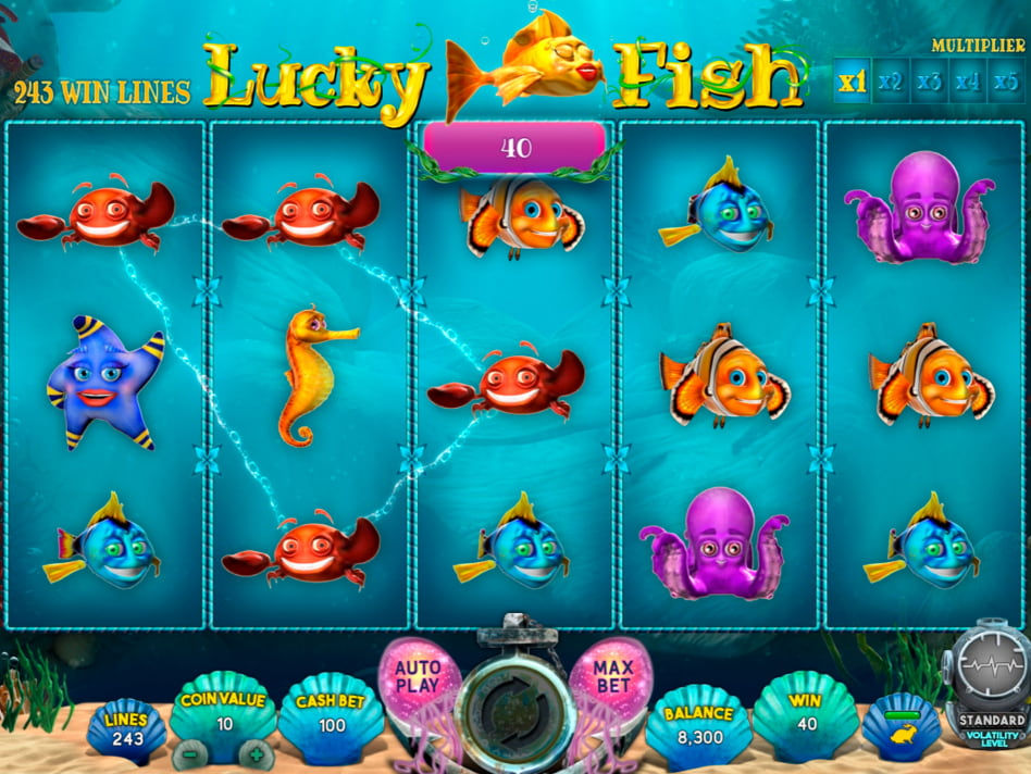 Lucky Fish slot game