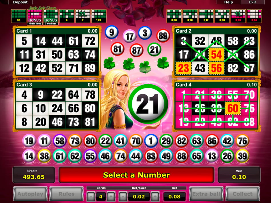 Lucky Lady slot game