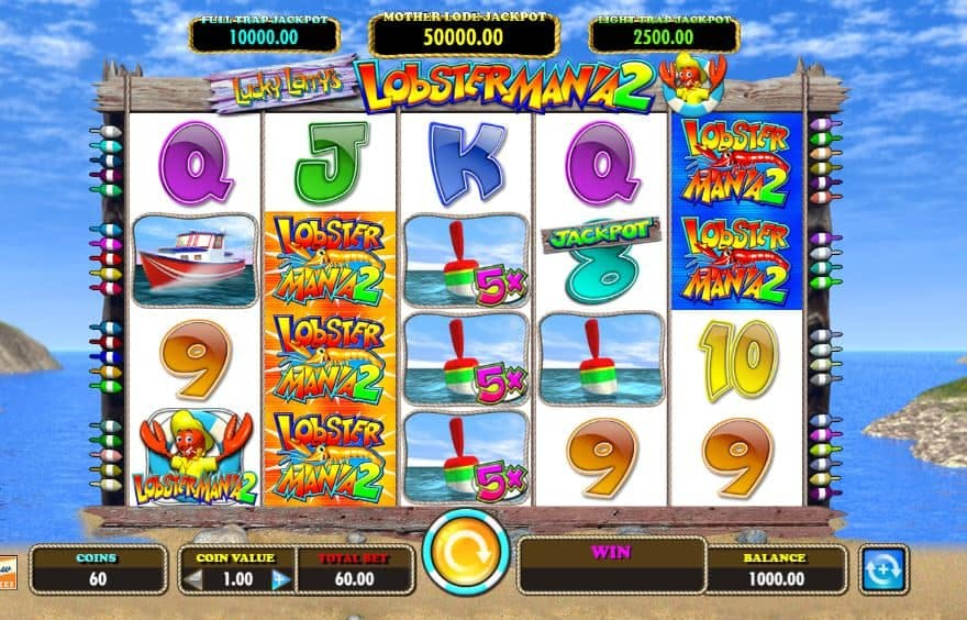 Lucky Larry's Lobstermania 2 slot game