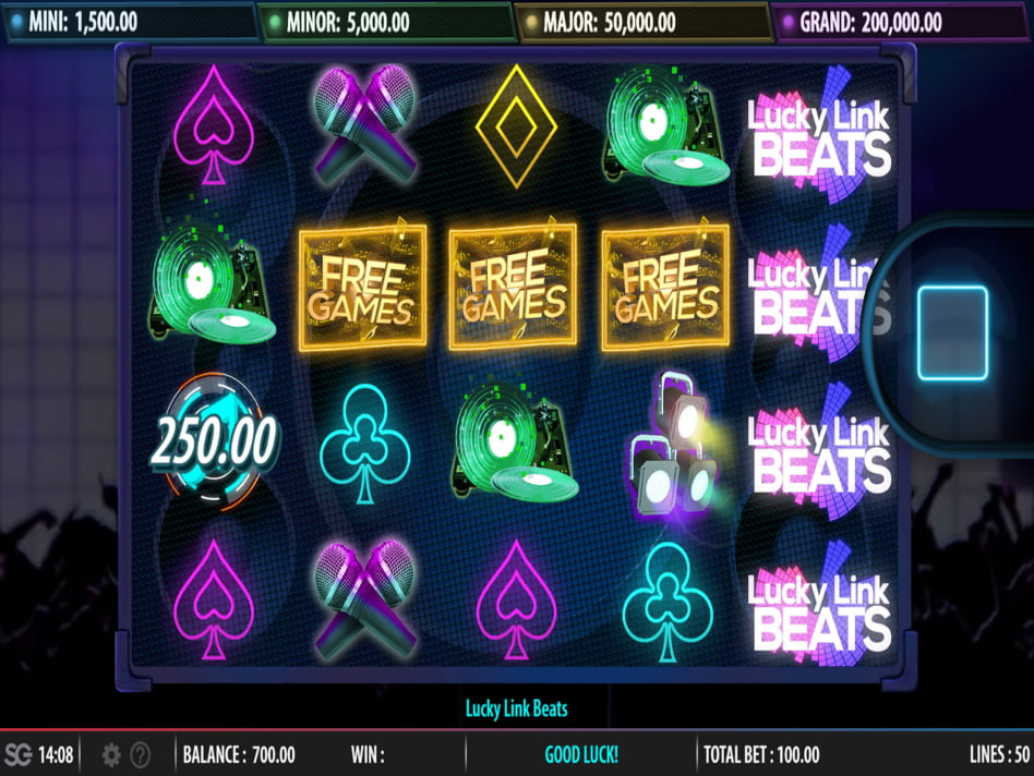 Lucky Link Beats slot game