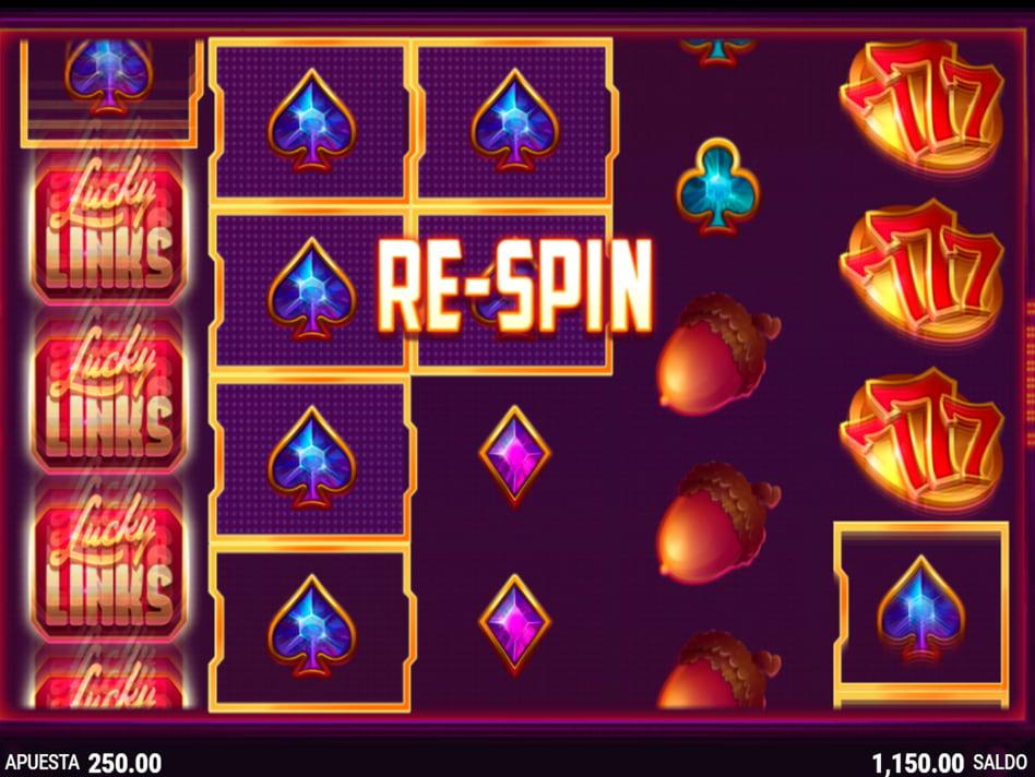 Lucky Links slot game