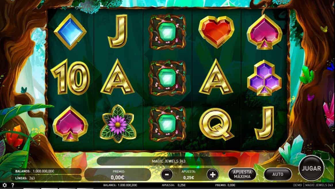 Magic Jewels slot game