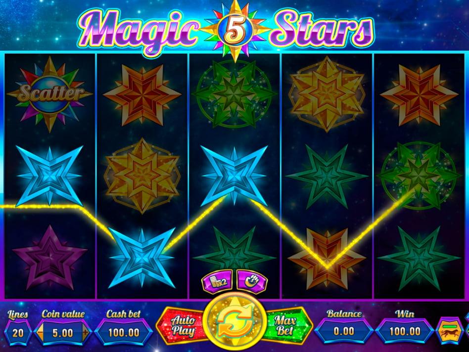 Magic Stars 5 slot game