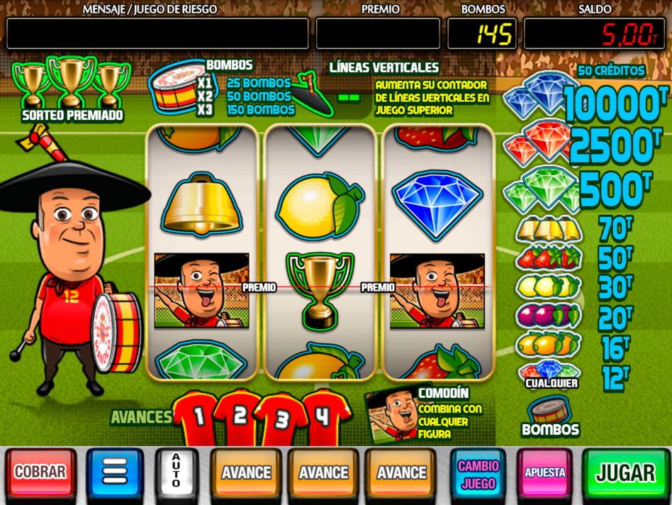 Manolo el del Bombo slot game