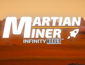 Martian Miner Infinity Reels slot game