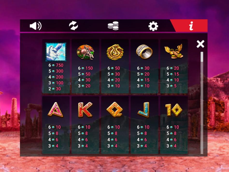 Medusa Megaways slot game