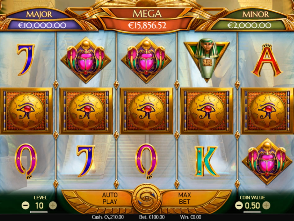 Mercy of the Gods slot game