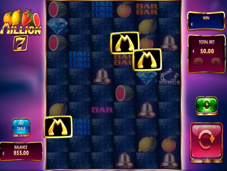 Million 7 slot game