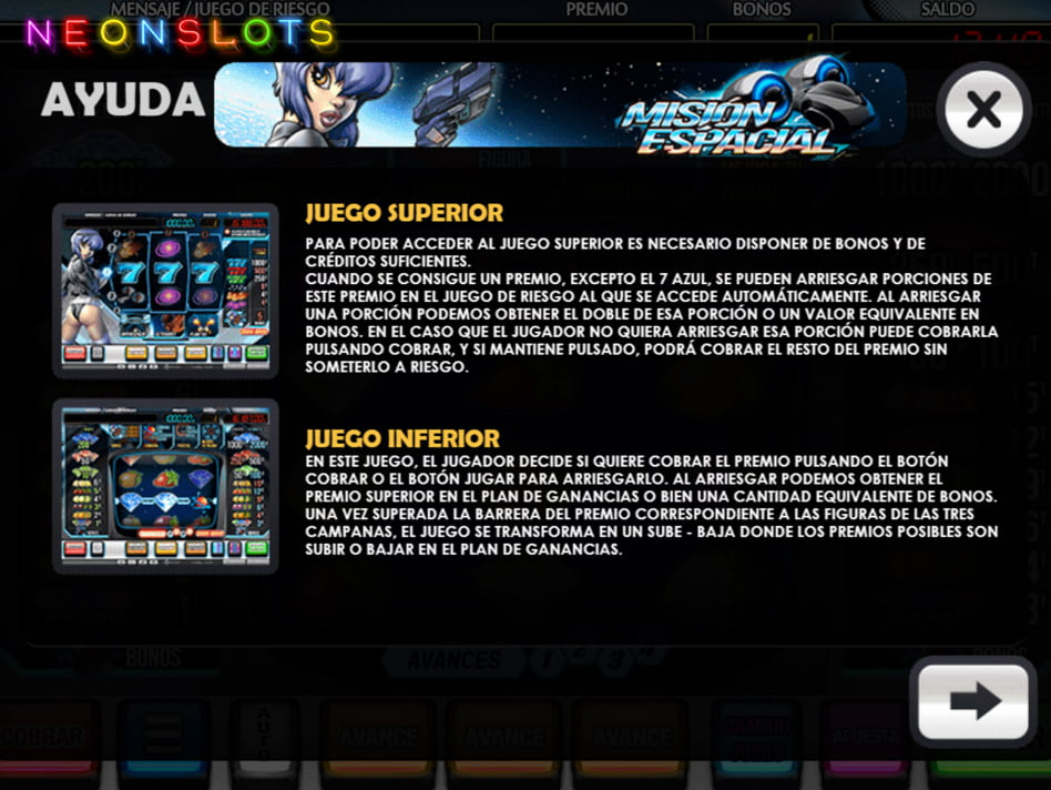 Mision Espacial slot game