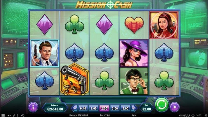 Mission Cash slot game