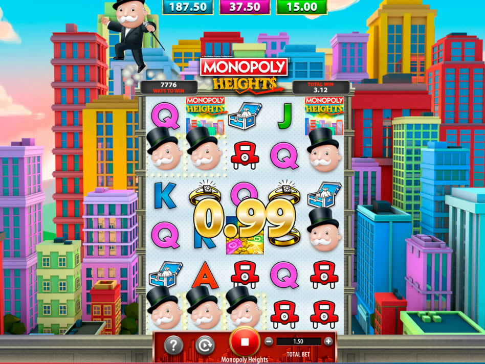 Monopoly Heights slot game