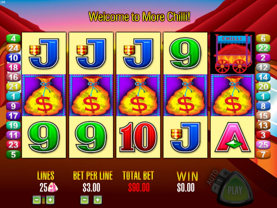 More Chilli slot game