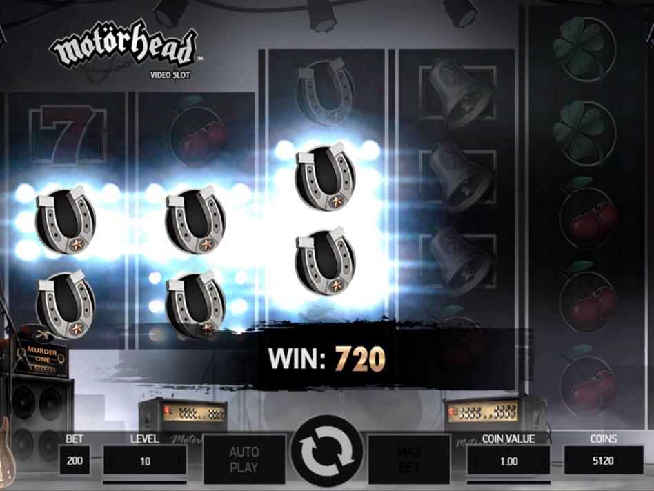Motörhead slot game