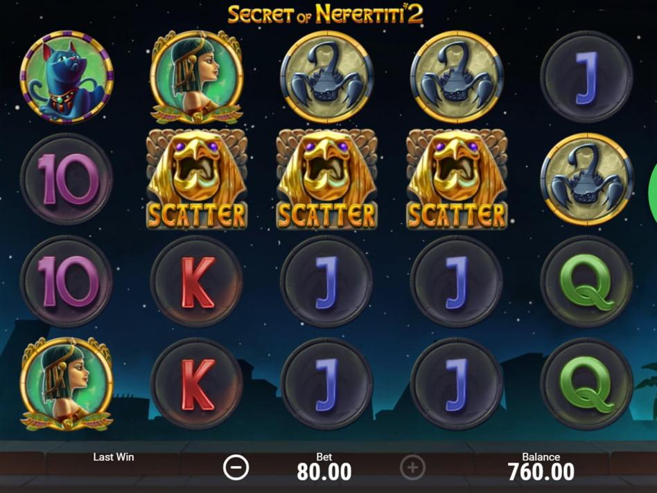 Nefertiti's Riches slot game