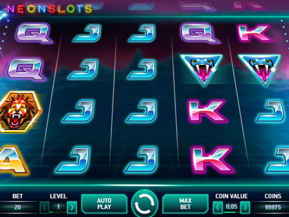 Neon Staxx slot game