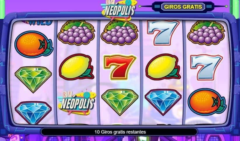 Neopolis slot game