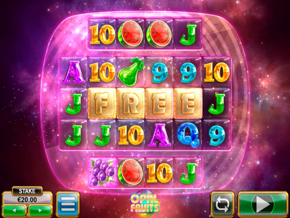 Opal Fruits slot game