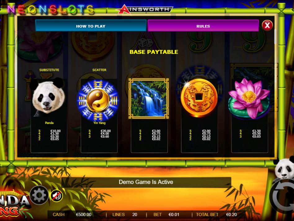 Panda's Fortune 2 slot game