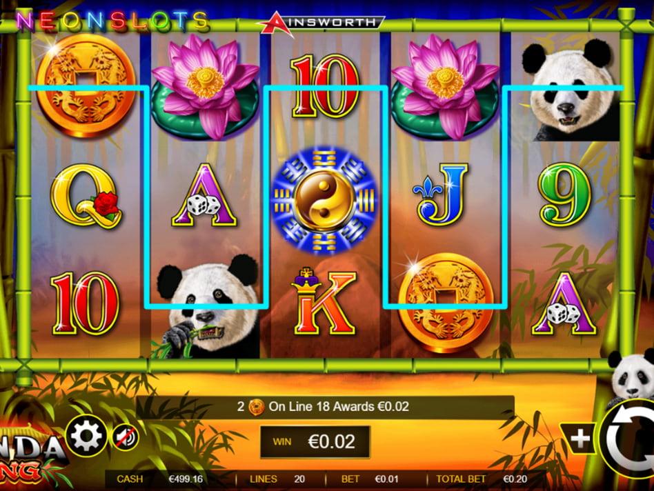 Panda's Run slot game