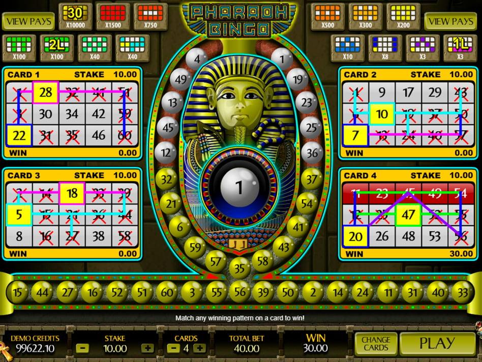 Pharaoh's Fortune slot game