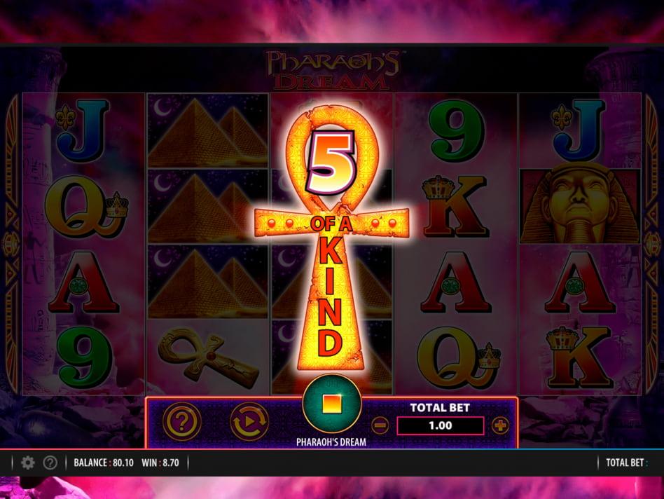 Pharaohs Dream slot game