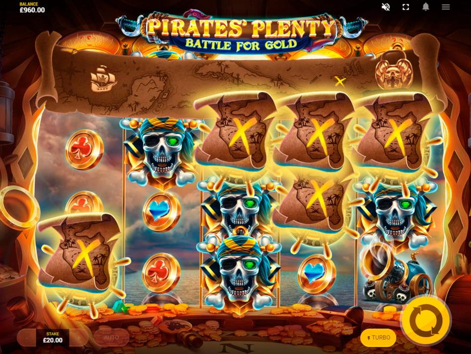 Pirates Plenty Battle for Gold slot game