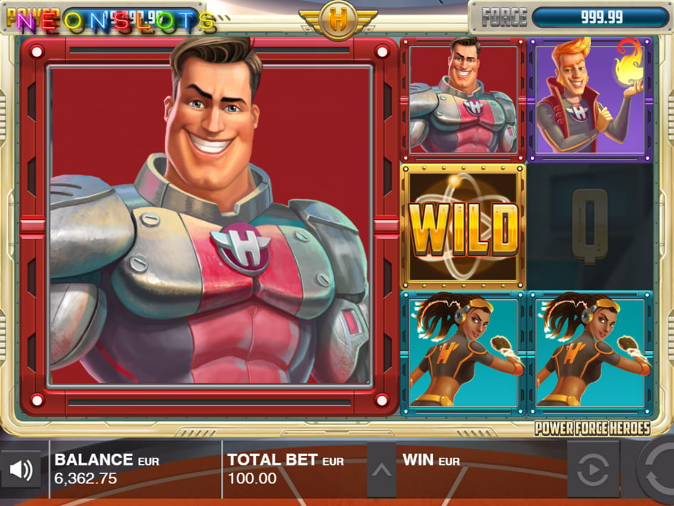 Power Force Heroes slot game