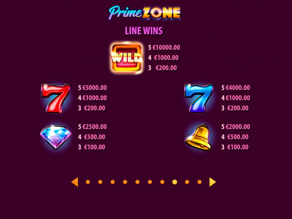 Prime Zone slot game