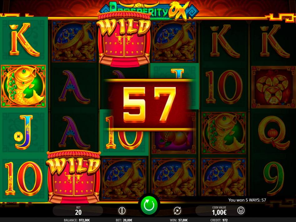 Prosperity Ox slot game