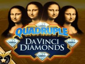 Quadruple Da Vinci Diamonds slot game
