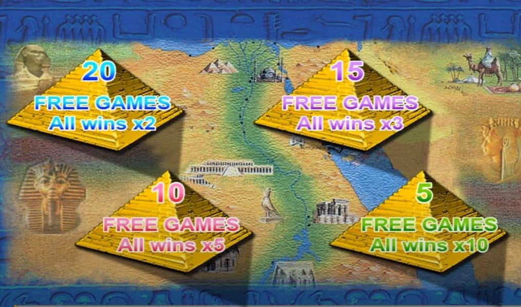 Queen of the Nile 2 slot game