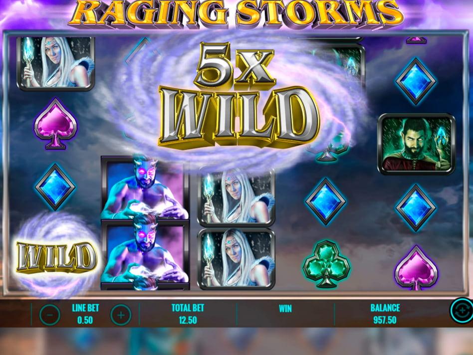 Raging Storms slot game