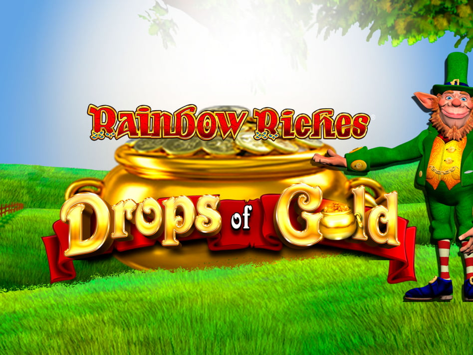 Rainbow Riches Drops of Gold slot game