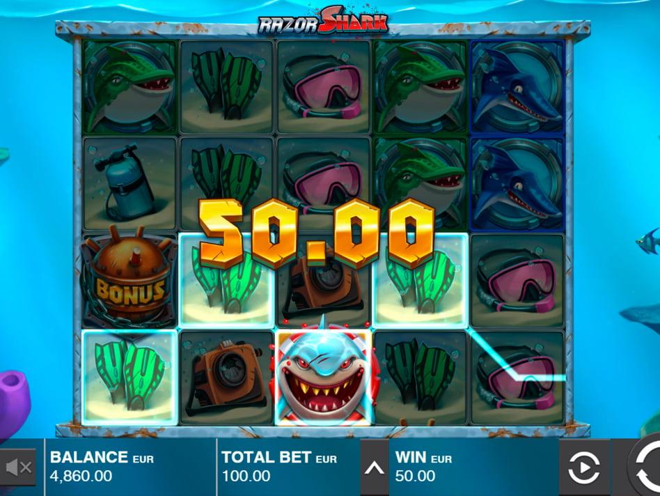 Razor Shark slot game