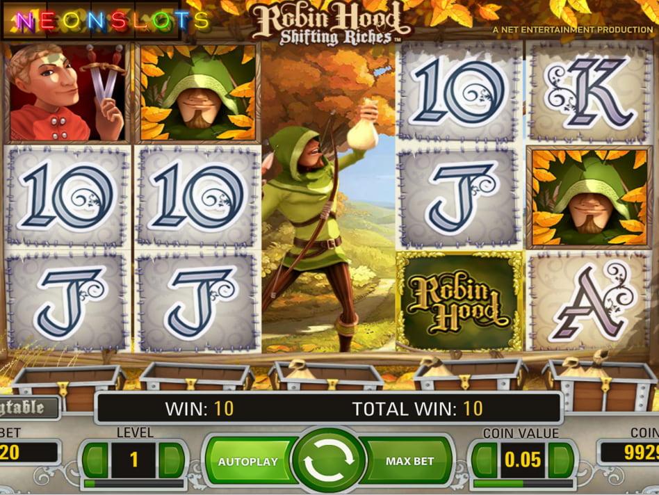 Robin – Sherwood Marauders slot game