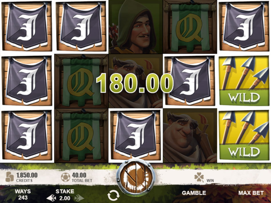 Robin of Sherwood slot game