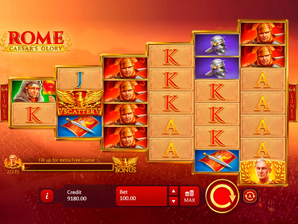 Rome – The Conquerors slot game