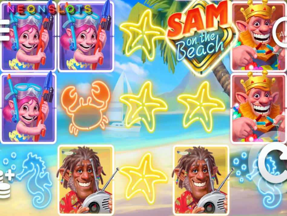 Sam on the Beach slot game